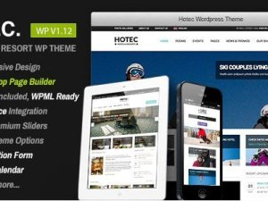 Hotec - Responsive Hotel Spa & Resort WP Theme
