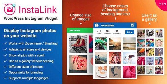 Instagram Widget - Instagram for WordPress