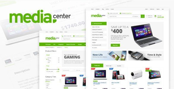 MediaCenter - Electronics Store WooCommerce Theme