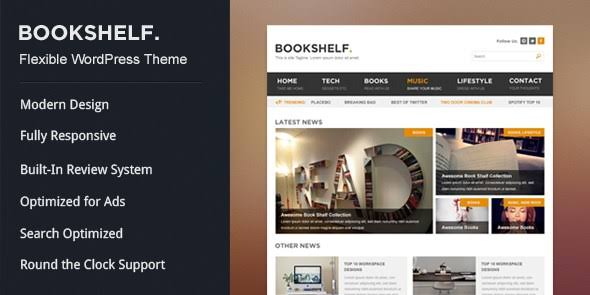 WPLocker-MyThemeShop BookShelf WordPress Theme