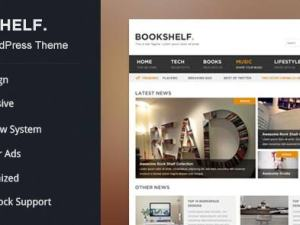 WPLocker-MyThemeShop BookShelf WordPress Theme