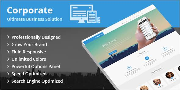 WPLocker-MyThemeShop Corporate WordPress Theme