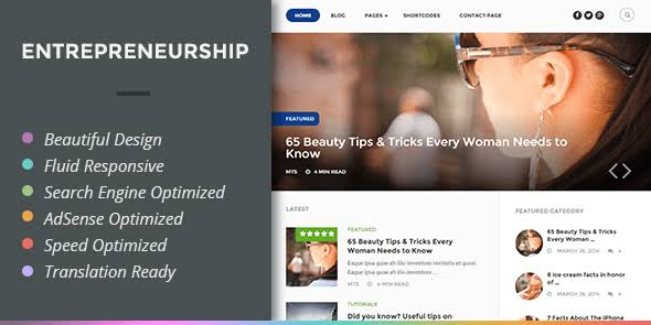 WPLocker-MyThemeShop Entrepreneurship WordPress Theme
