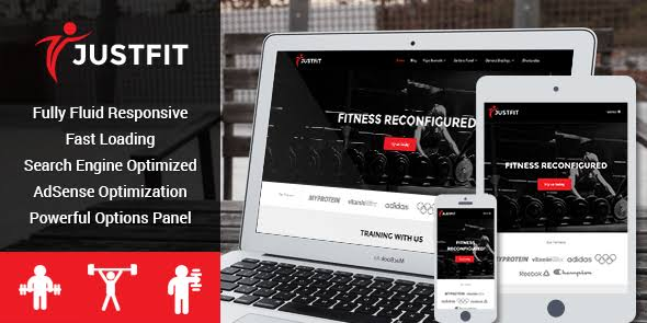 WPLocker-MyThemeShop JustFit WordPress Theme
