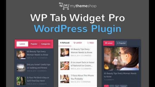 WPLocker-MyThemeShop WP Tab Widget Pro WordPress Plugin