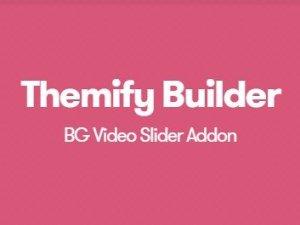 Themify Builder BG Video Slider Addon