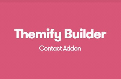 Themify Builder Contact Addon