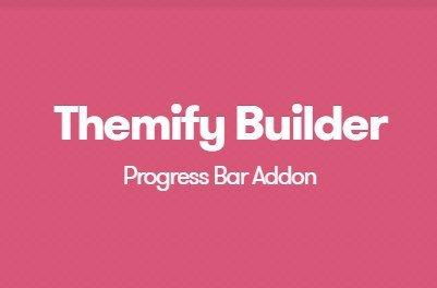 Themify Builder Progress Bar Addon
