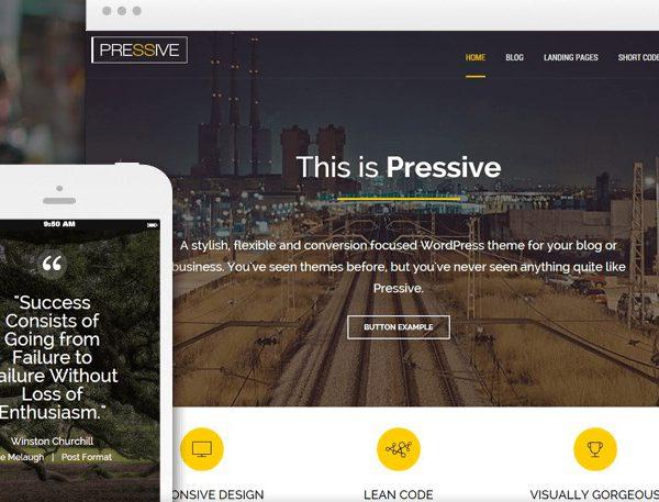 Thrive Themes Pressive WordPress Theme