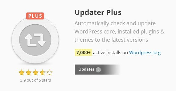Updater Plus WordPress Plugin