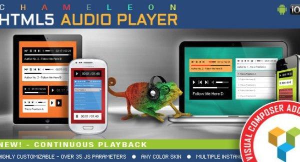 Visual Composer Addon - Chameleon Audio Player