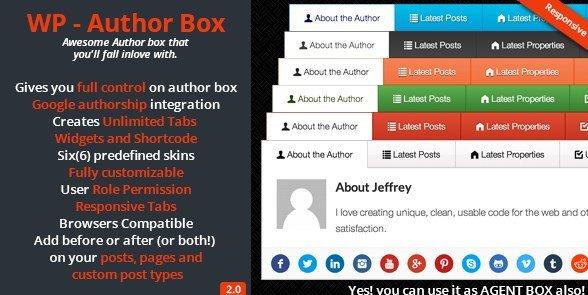 WP - Author Box