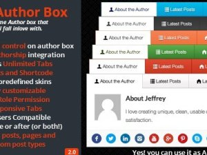 WP - Author Box