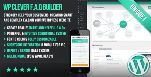 WP Clever FAQ Builder