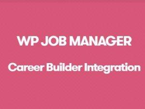 WP Job Manager Career Builder Integration Addon
