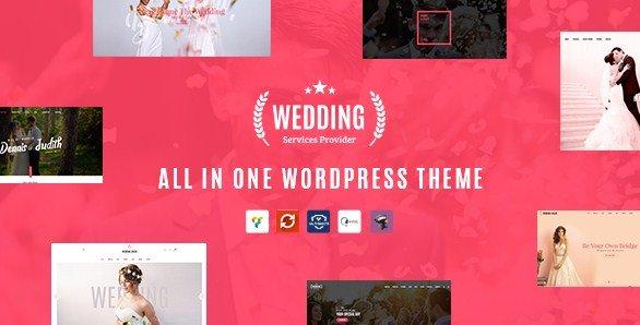 Wedding - All in One WordPress Theme