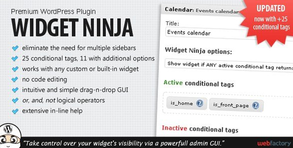 Widget Ninja WordPress Plugin