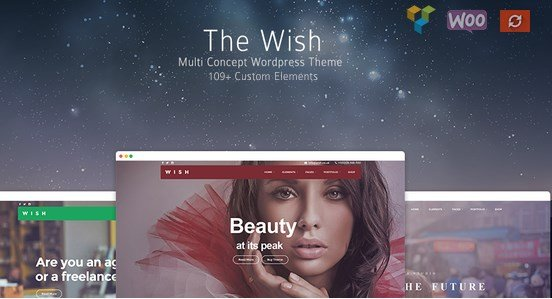 Wish - Responsive Multi-Purpose WordPress Theme