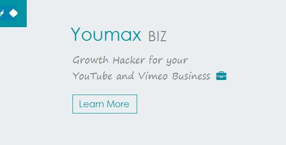 Youmax - Grow your YouTube and Vimeo Business