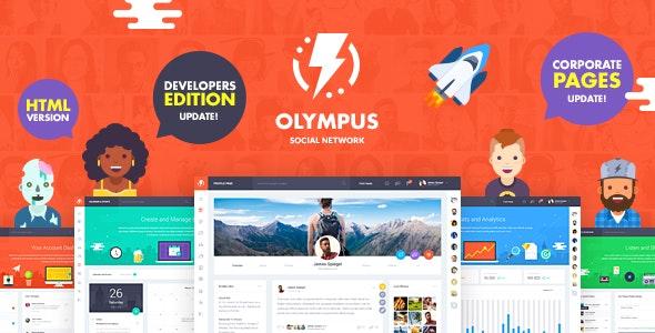 Olympus – Powerful BuddyPress Theme for Social Networking