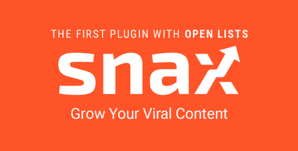 Snax – Viral Front-End Uploader