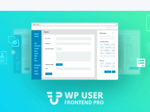 Wp User Frontend Pro (Professional)