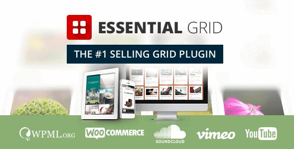 Essential Grid - WordPress Grid Building Solution