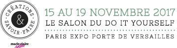 15 au 17 novembre 2017 LE SALON DU DO IT YOURSELF