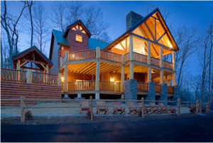 A rental cabin called Incredible!