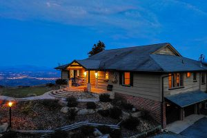 Best View Ever, a 5-bedroom rental cabin with incredible views