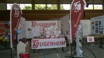 Stand des TVJ am Neubürgerempfang am 18.04.2015