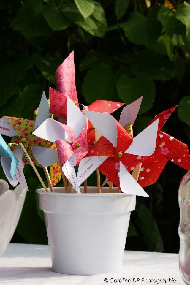Mariage Ccile Et Loc Tout En Origami Cratrice De