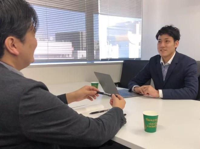 日刊ゲンダイ インタビュー風景3