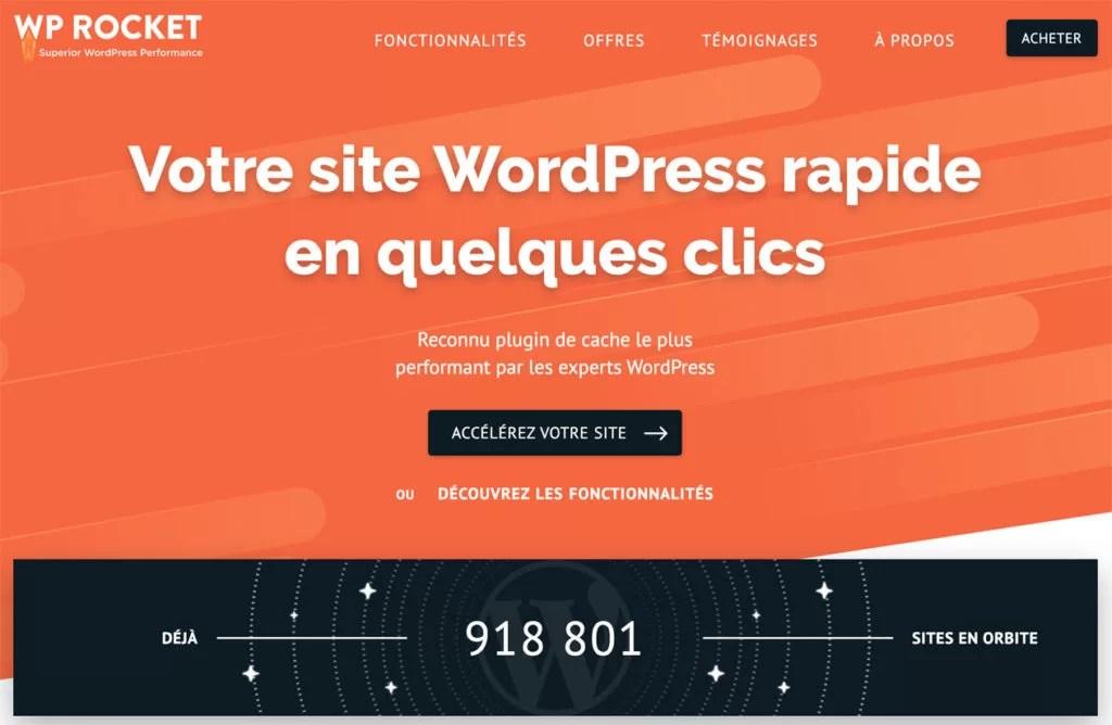 """Résultat de recherche d'images pour """"wordpress wp rocket"""""""
