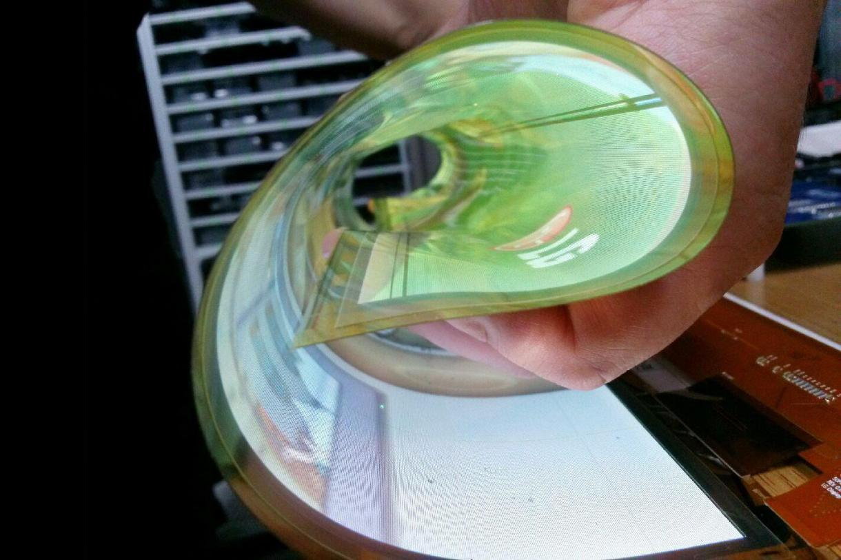 LG-rollable-OLED-display-flexible