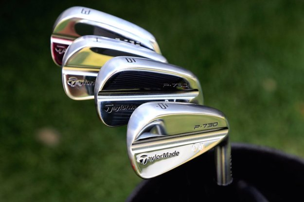 Dustin Johnson has been testing Taylormade's P730 irons.