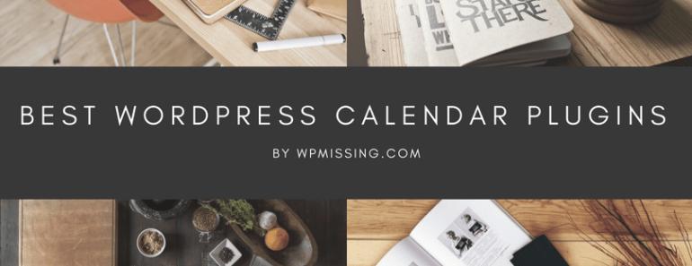 Best WordPress Calendar Plugins