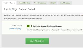 Shield Security for WordPress Firewall