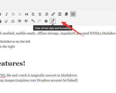 Clear Text Style And Formatting In Wordpress Editor - Simple Clean Content-min