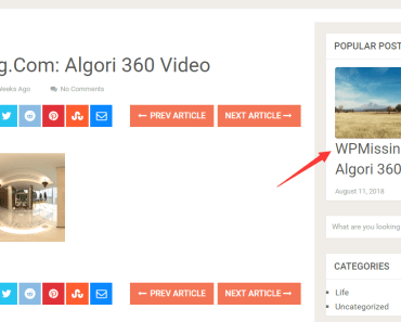 Easy Popular Post Widget With Thumbnails Support-min