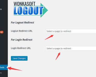 Redirect Users After Login Or Logout - Wonkasoft Logout-min