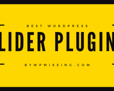 Responsive Mobile-Friendly WordPress Slider Plugins