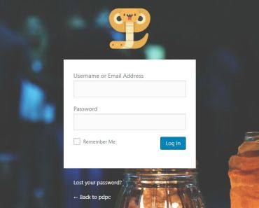 Add Custom Logo & Background To Login Page - Custom WP Admin Login
