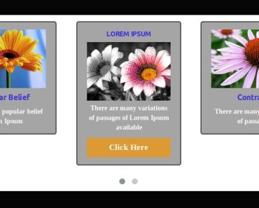 Flipping Card Carousel Plugin For Wordpress - Flip Box Carousel