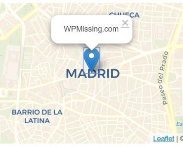 Interactive Leaflet Map Plugin For Wordpress - Map Block Leaflet