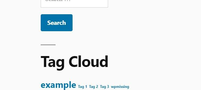 Limit The Number Of Tags In The Tag Cloud - Wp LimitTags