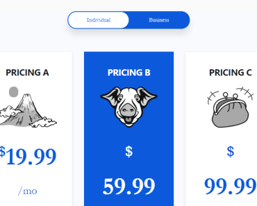 Kenzap Pricing Layout 3