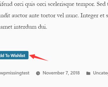 Add To Wishlist button