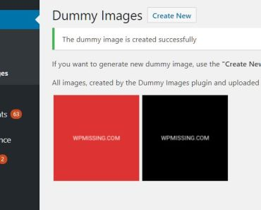 Generate Custom Placeholder Images In Media Library - Dummy Images