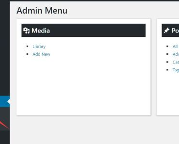 Advanced Admin Menu For Wordpress - Move Admin Menu Items